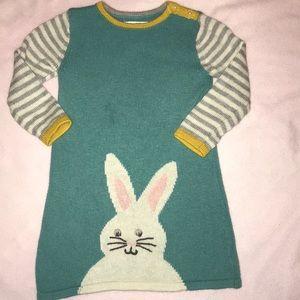 Baby Boden Bunny Dress
